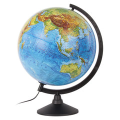 """Глобус физический GLOBEN """"Классик"""", диаметр 320 мм, с подсветкой, К013200017"""