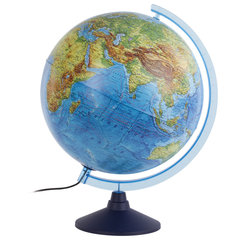 Глобус интерактивный физический/политический Globen, диаметр 320 мм, с подсветкой, INT13200288
