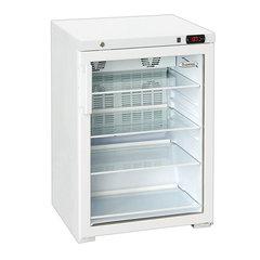 "Холодильная витрина БИРЮСА ""Б-154DNZ"", общий объем 154 л, 86x58x62 см, белый"