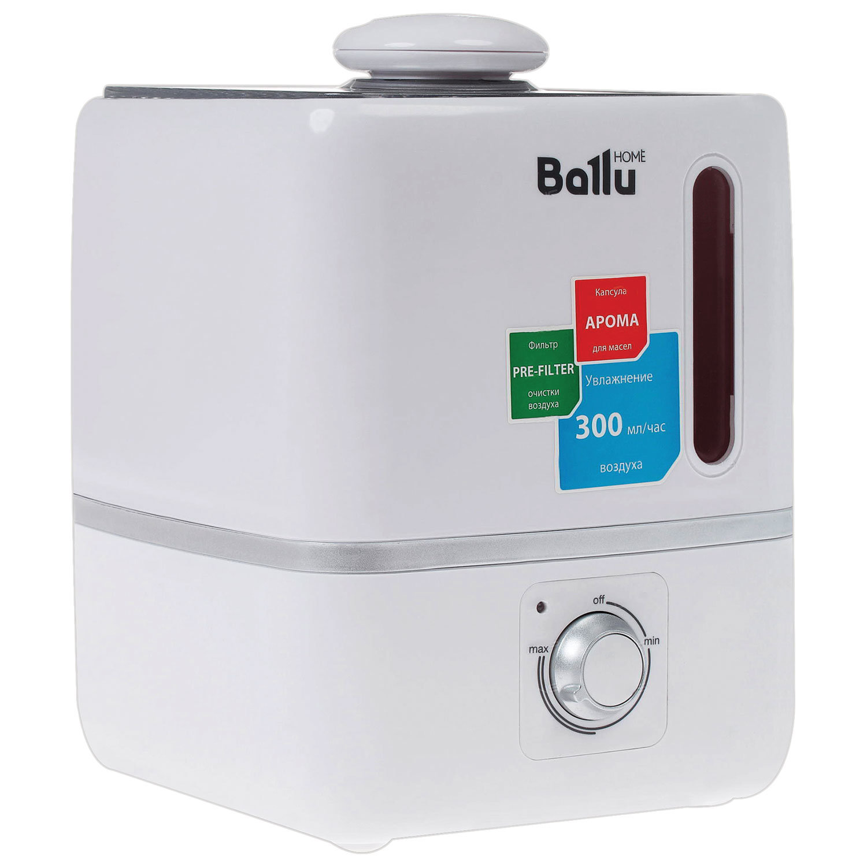 """Увлажнитель BALLU """"UHB-310"""", объем бака 3 л, мощность 25 Вт, арома контейнер, белый"""