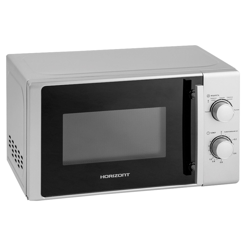 Микроволновая печь HORIZONT 20MW700-1378BIS, объем 20 л, мощность 700 Вт, механическое управление, белая