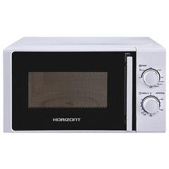 Микроволновая печь HORIZONT 20MW700-1478BIW, объем 20 л, мощность 700 Вт, механическое управление, гриль, белая
