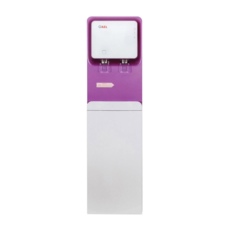 Пурифайер для воды AEL LC-AEL-570S, напольный, НАГРЕВ/ОХЛАЖДЕНИЕ, 2 крана, белый/пурпурный, 00276