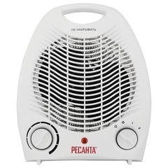 Тепловентилятор РЕСАНТА ТВС-1, 2000 Вт, 2 режима работы, белый
