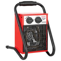 Тепловая пушка электрическая РЕСАНТА ТЭП-2000, 2000 Вт, 220 В, квадратная, красная