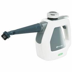 Пароочиститель KITFORT KT-918-2, 1000 Вт, 3 бара, объем 0,2 л, белый/серый