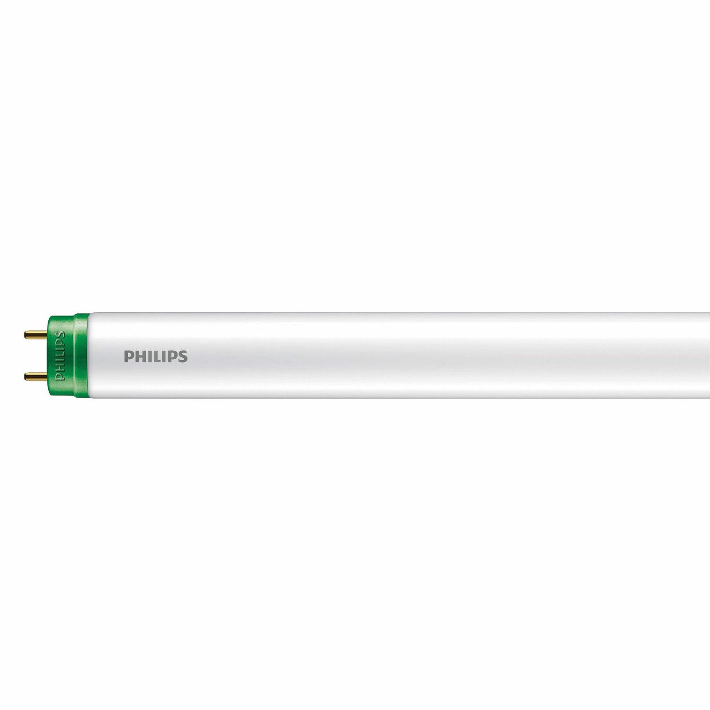 Лампа-трубка светодиодная PHILIPS Ecofit LedTube, 8 Вт, 15000 ч, 600 мм, нейтральный белый, 929001184767