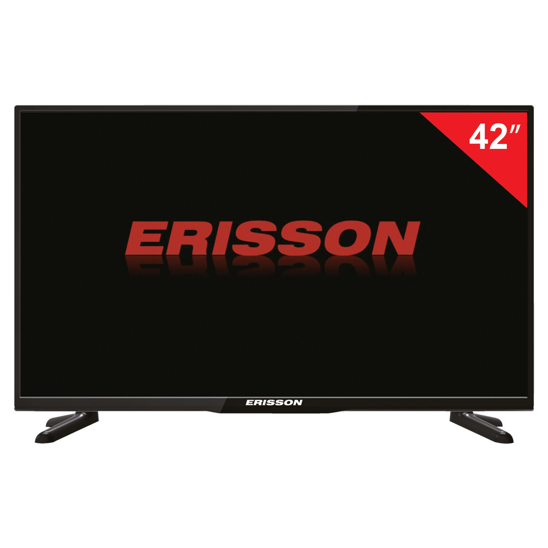 Телевизор ERISSON 42FLEK81T2, 42'' (102 см), 1920х1080, FullHD, 16:9, черный