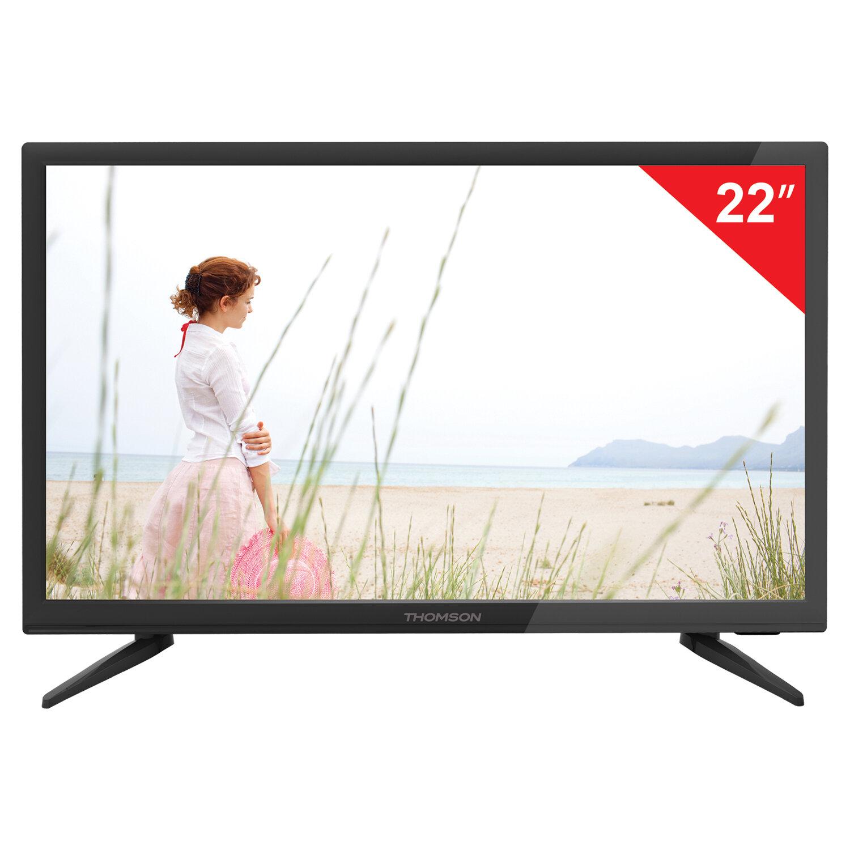 "Телевизор THOMSON T22FTE1020, 22"" (54 см), 1920х1080, Full HD, 16:9, черный"