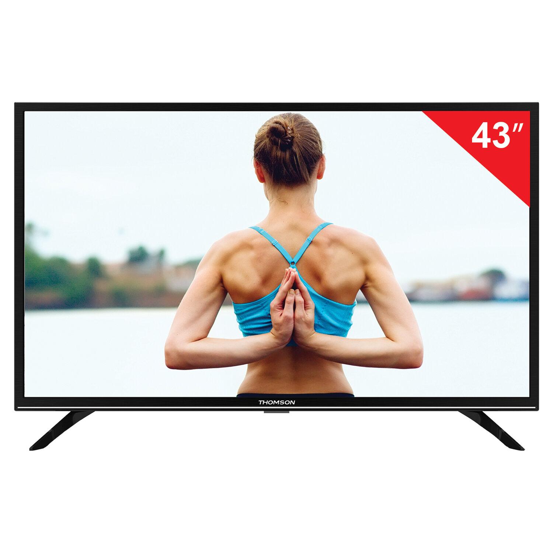 """Телевизор THOMSON T43FSE1190, 43"""" (108 см), 1920х1080, Full HD, 16:9, черный"""