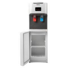 Кулер для воды HOT FROST V115CE, напольный, НАГРЕВ/ОХЛАЖДЕНИЕ ЭЛЕКТРОННОЕ, шкаф, 2 крана, белый