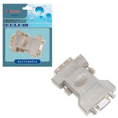 Адаптер (переходник) VGA F (розетка) - DVI-I M (вилка), BELSIS