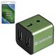 Хаб DEFENDER QUADRO IRON, USB 2.0, 4 порта, алюминиевый корпус, порт для питания, 83506