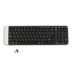Клавиатура беспроводная LOGITECH K230, 101 клавиша, черная, 920-003348