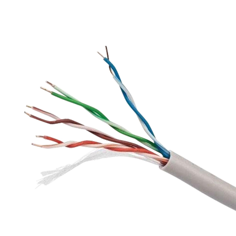 Кабель витая пара, 305 м, Cablexpert, FTP5e, 4 пары, 0,50 мм, медь, экран, Fluke Test, FPC-5004E-SO