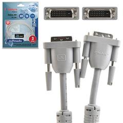 Кабель DVI-D, 3 м, BELSIS, 2 фильтра, для цифрового видео, до 2048x1536 пикселей, BW1471