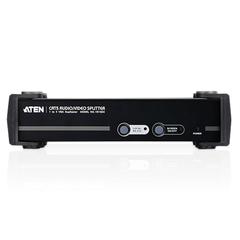 Разветвитель UTP Cat 5 ATEN, 4-портовый, для передачи аудио/видео, до 1920x1200 пикселей