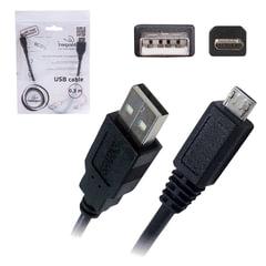 Кабель USB-micro USB 2.0, 0,3 м, CABLEXPERT, для подключения портативных устройств и периферии