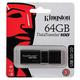 Флеш-диск 64 GB, KINGSTON DataTraveler 100 G3, USB 3.0, черный, DT100G3/64GB