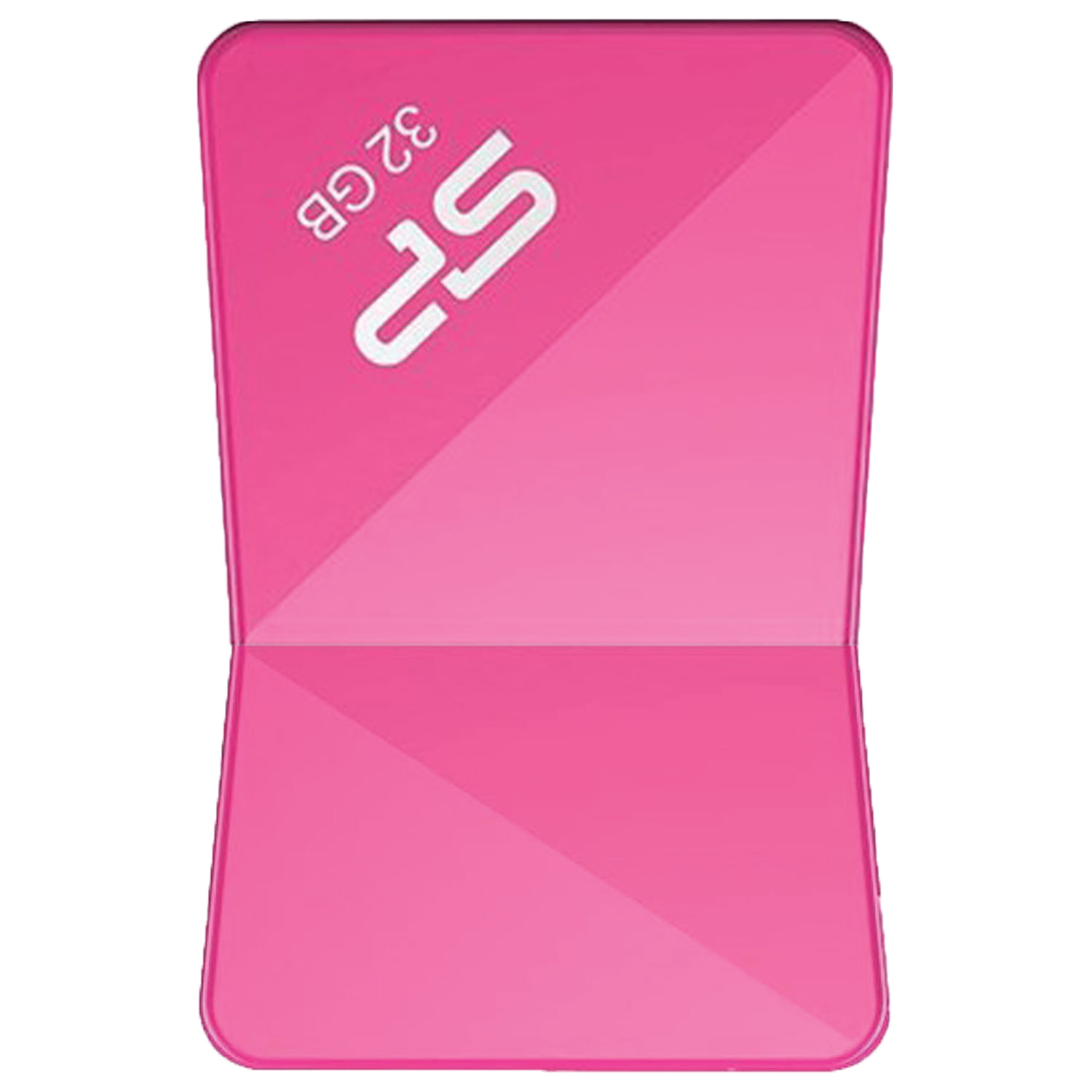 Флеш-диск 32 GB SILICON POWER Touch T08 USB 2.0, розовый, SP32GBUF2T08V1H