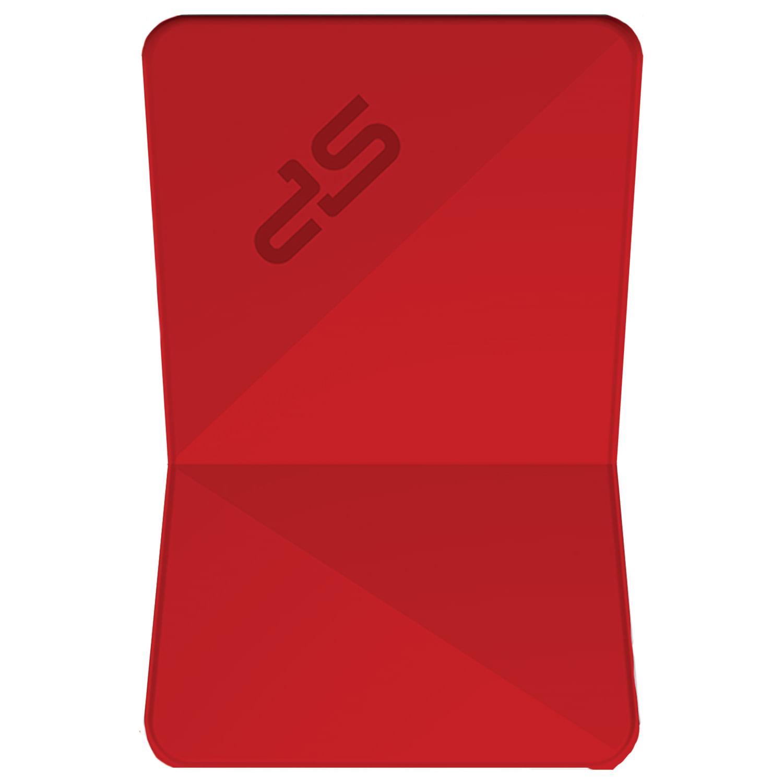 Флеш-диск 32 GB SILICON POWER Jewel J08 USB 3.1, красный, SP32GBUF3J08V1R