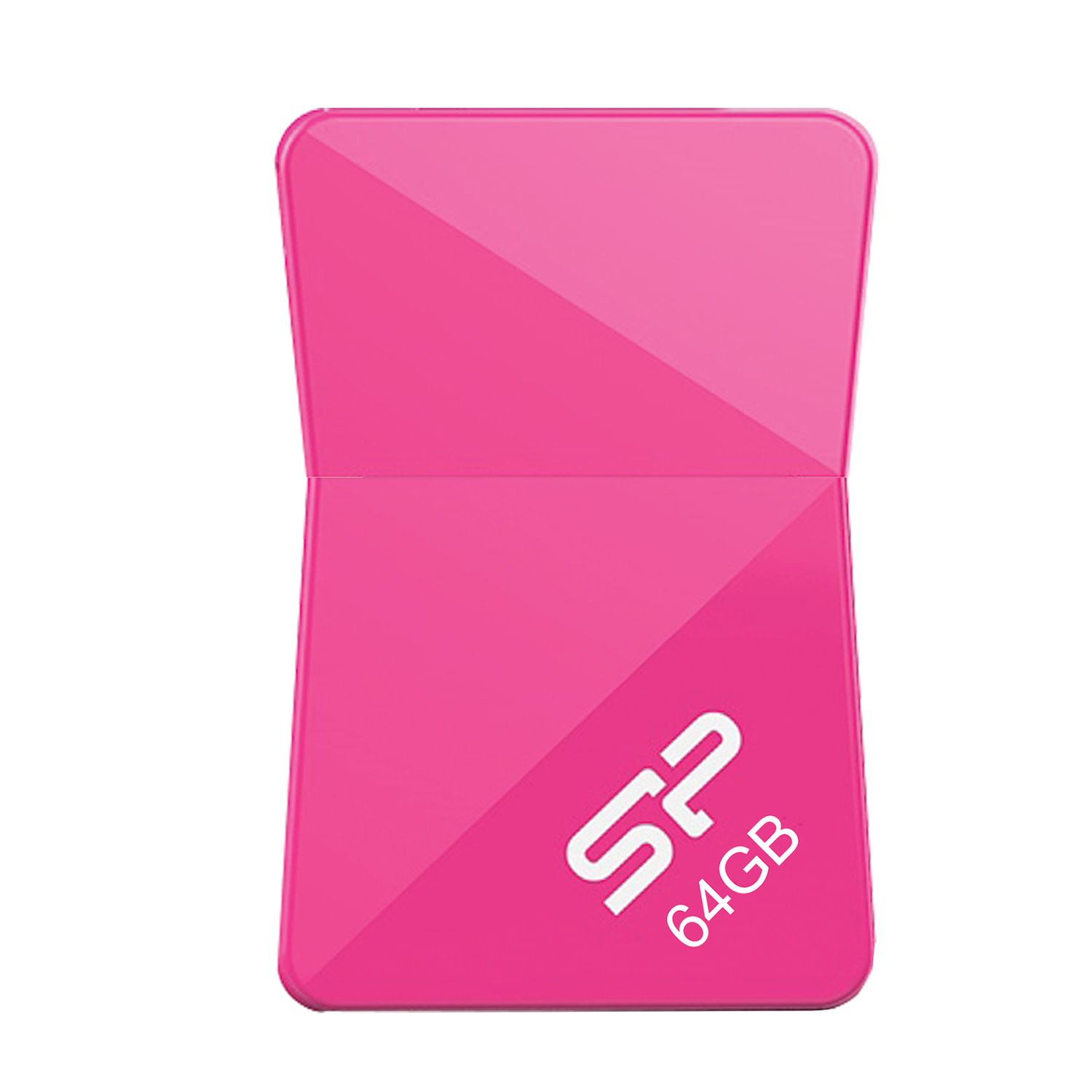 Флеш-диск 64 GB SILICON POWER Touch T08 USB 2.0, розовый, SP64GBUF2T08V1H