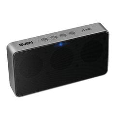 Колонка портативная SVEN PS-80BL, 1.0, 6 Вт, Bluetooth, FM-тюнер, microSD, MP3-плеер, черная, SV-014919