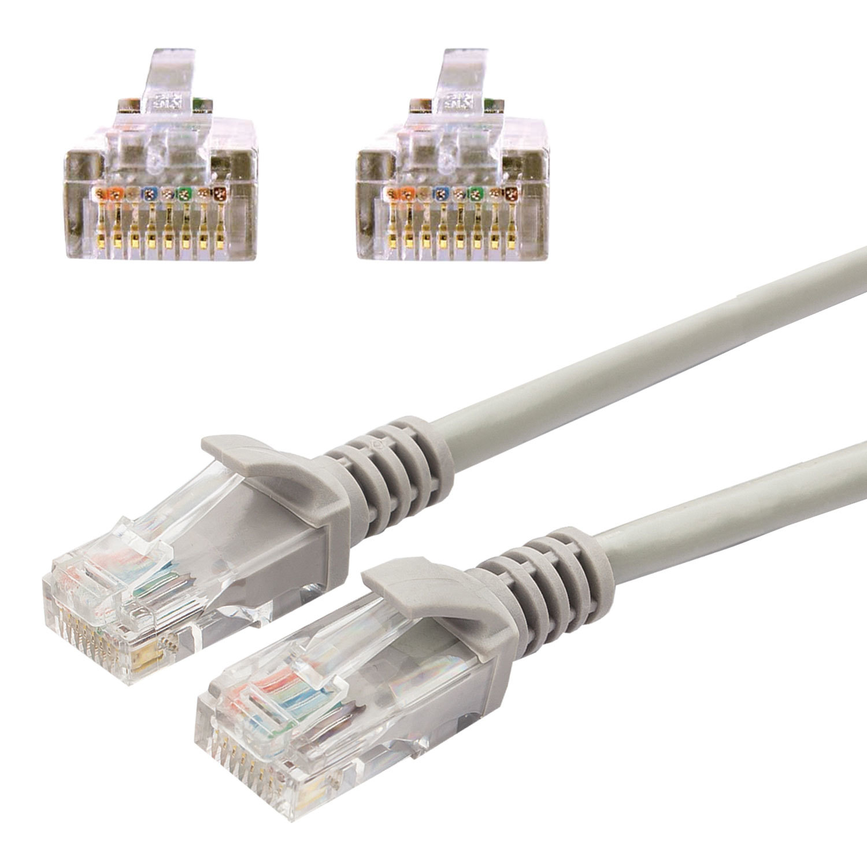 Кабель (патч-корд) UTP 5e категория, RJ-45, 1 м, CABLEXPERT, для подключения по локальной сети LAN, PP12-1m
