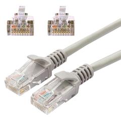 Кабель (патч-корд) UTP 5e категория, RJ-45, 20 м, CABLEXPERT, для подключения по локальной сети LAN, PP12-20M