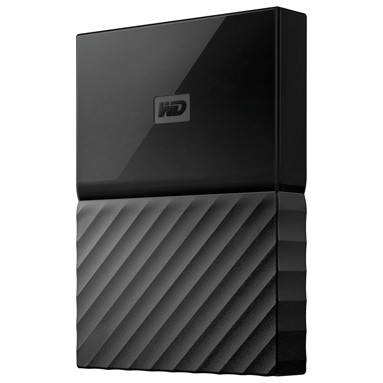 """Внешний жесткий диск WD My Passport 1TB, 2.5"""", USB 3.0, черный, WDBBEX0010BBK-EEUE"""