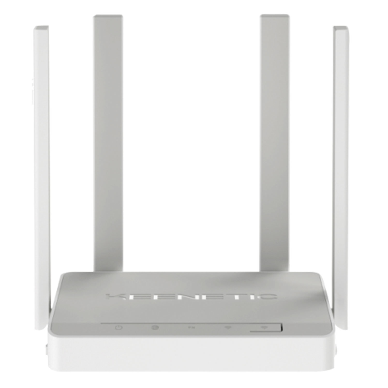 Маршрутизатор KEENETIC Viva, KN-1910, 5x1 Г бит, 2xUSB2.0, Wi-Fi 2,4+5 ГГц 802.11ac, 400+867 Мбит