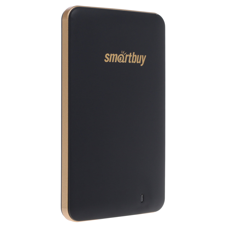 """Внешний SSD накопитель SMARTBUY S3 Drive 256GB, 1.8"""", USB 3.0, черный, SB256GB-S3DB-18SU30"""