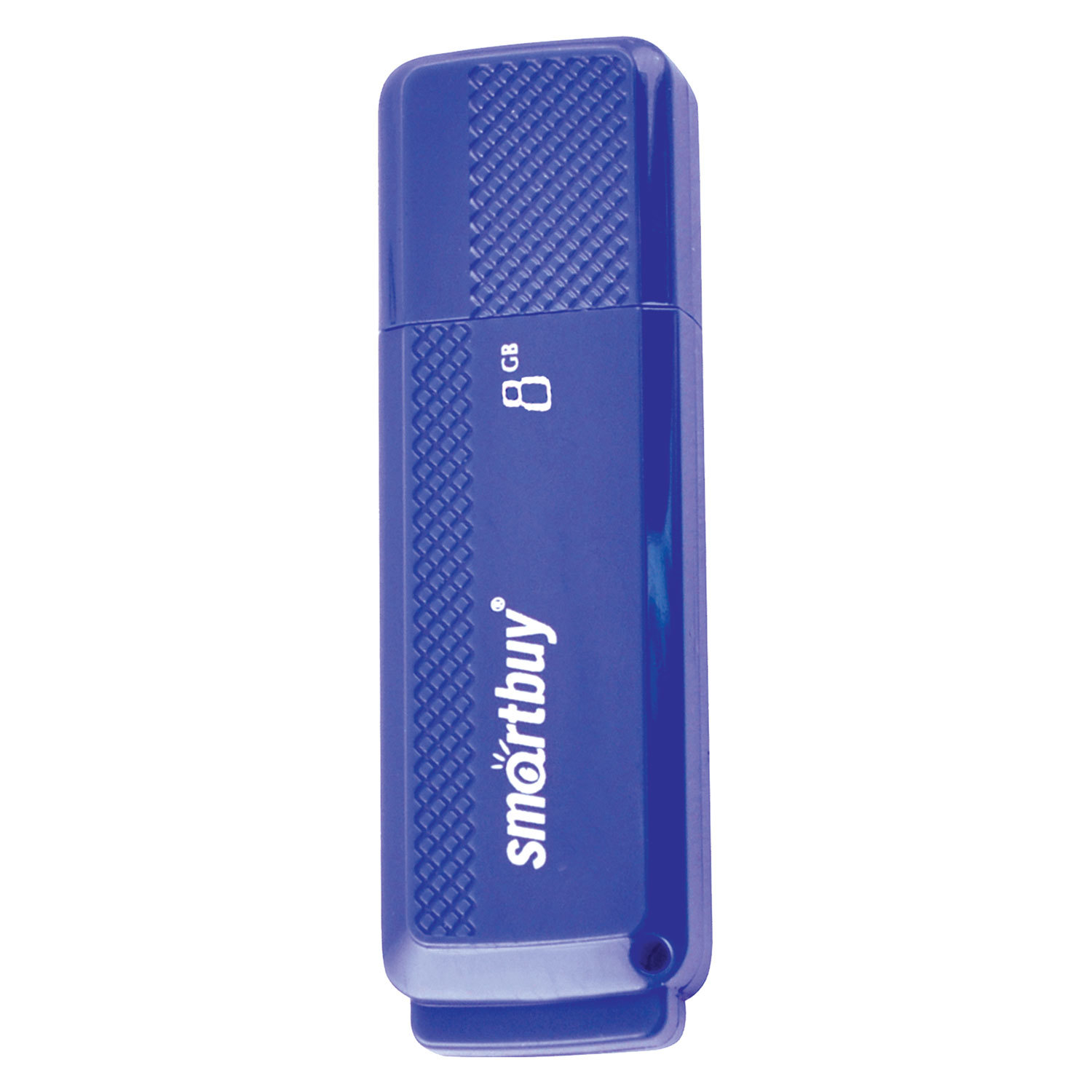 Флеш-диск 8 GB, SMARTBUY Dock, USB 2.0, синий, SB8GBDK-B