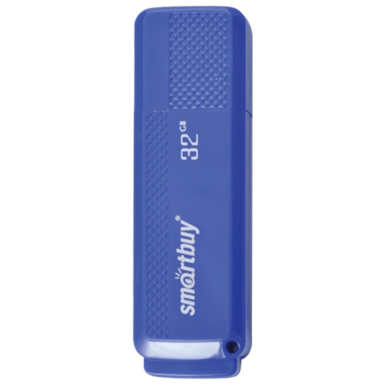 Флеш-диск 32 GB, SMARTBUY Dock, USB 2.0, синий, SB32GBDK-B