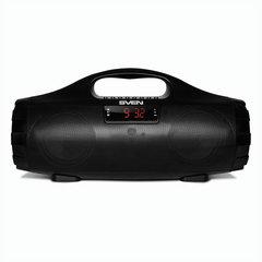 Колонка портативная SVEN PS-460, 2.0, 18 Вт, Bluetooth, FM-тюнер, USB, microUSB, черная, SV-015237