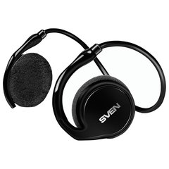 Наушники с микрофоном (гарнитура) SVEN AP-B250MV, Bluetooth, беспроводные, с оголовьем, черные