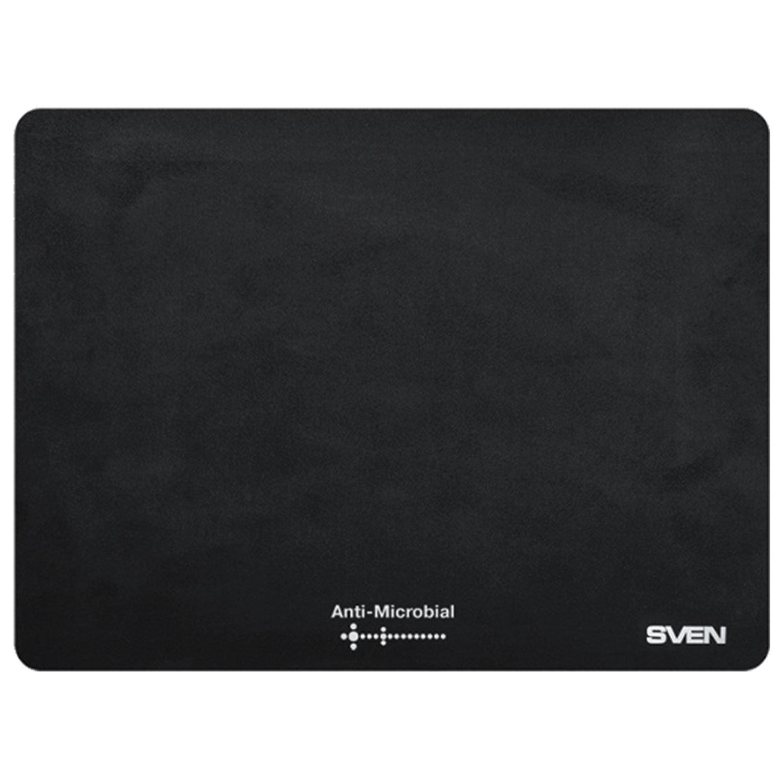 Коврик для мыши с бактерицидным покрытием SVEN CK, полипропилен, 240х190х1 мм, черный, SV-009861