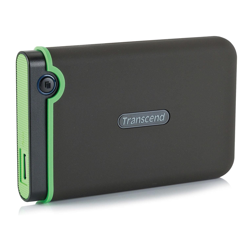 """Внешний жесткий диск TRANSCEND StoreJet 25M3S 1TB, 2.5"""", USB 3.0, серый, TS1TSJ25M3S"""