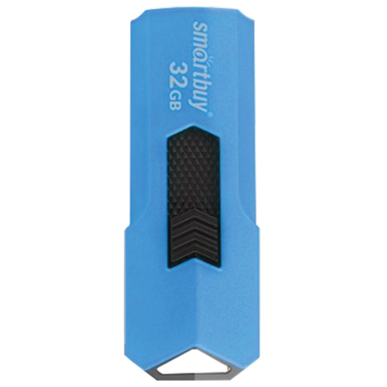 Флеш-диск 32 GB SMARTBUY Stream USB 2.0, синий, SB32GBST-B