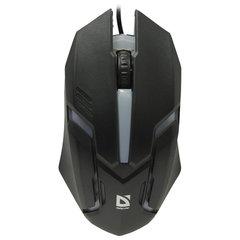Мышь проводная DEFENDER CYBER MB-560L, USB, 2 кнопки + 1 колесо-кнопка, оптическая, черная