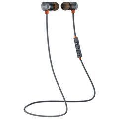 Наушники с микрофоном (гарнитура) DEFENDER OUTFIT B710, Bluetooth, беспроводые, черные с оранжевым