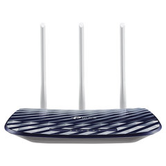Маршрутизатор TP-LINK Archer A2, 5x100 Мбит, Wi-Fi 2,4+5 ГГц 802.11ac, 300+433 Мбит