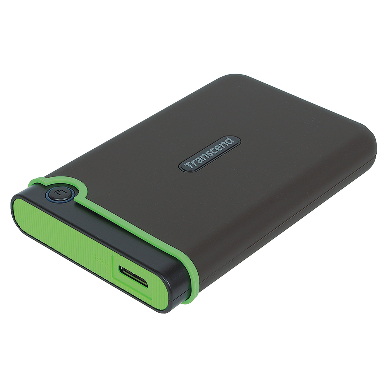 """Внешний жесткий диск TRANSCEND StoreJet 25M3S 2TB, 2.5"""", USB 3.1, серый, TS2TSJ25M3S"""