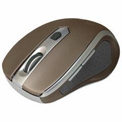Мышь беспроводная DEFENDER Safari MM-675, USB, 5-кнопок+1 колесо-кнопка, оптическая, коричневая