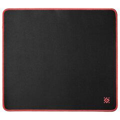 Коврик для мыши игровой DEFENDER Black XXL, ткань+резина, 400x355x3 мм, черный, 50559