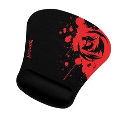 Коврик для мыши игровой REDRAGON Libra, ткань+резина, 259х248х3 мм, черный, 78305