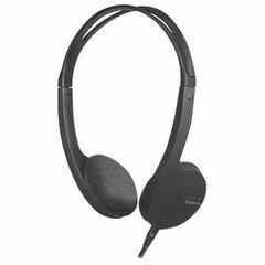 Наушники с микрофоном (гарнитура) DEFENDER Accord 150, проводные, 1,2 м, с оголовьем, черные