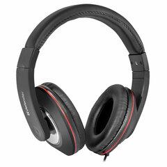 Наушники с микрофоном (гарнитура) DEFENDER Accord 171, проводные, 1,2 м, полноразмерные с оголовьем, черные