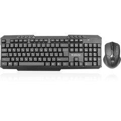 Набор беспроводной DEFENDER Jakarta C-805,клавиатура, мышь 3 кнопки+1 колесо-кнопка, черный, 45805