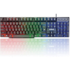 Клавиатура проводная игровая DEFENDER Mayhem GK-360DL, USB, 104 клавиши, с подсветкой, черная, 45360